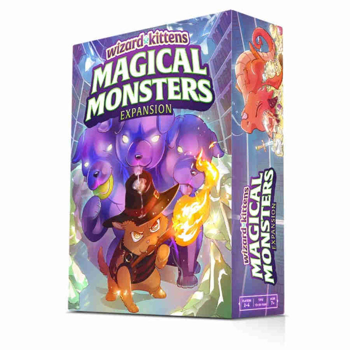 Wizard Kittens: Magical Monsters Expansion Board Game