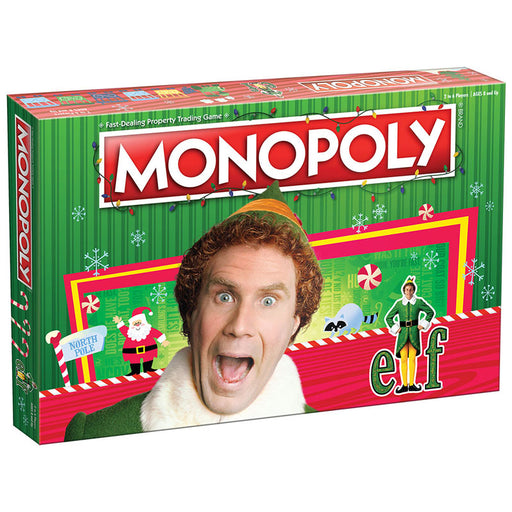 Monopoly: Elf Board Game (Pre-Order Nov ETA)
