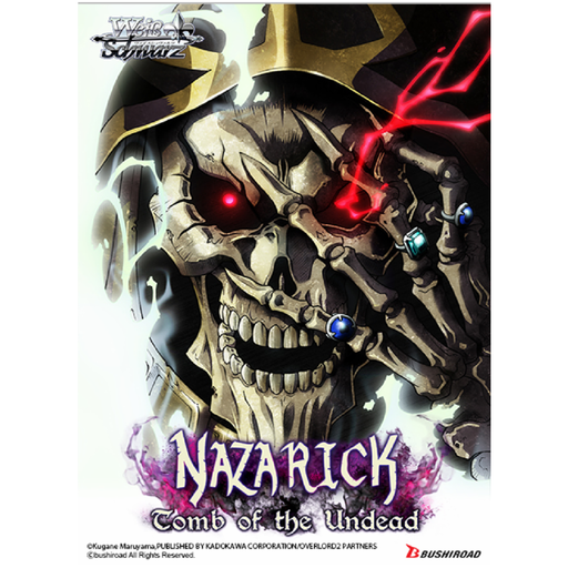 "Overlord ""Nazarick: Tomb of the Undead"" Weiss English Boosters, Single Box / Case of 16 Boxes [Pre-Order]"