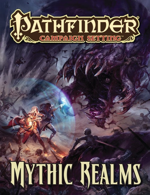 Pathfinder Campaign Setting: Mythic Realms RPG Book