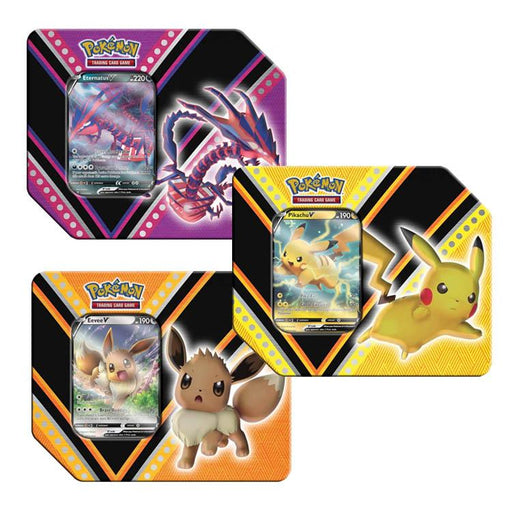 Pokemon TCG: V Powers Tin