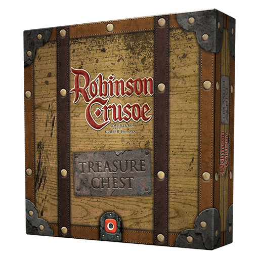 Robinson Crusoe: Treasure Chest Board Game (Pre-order)