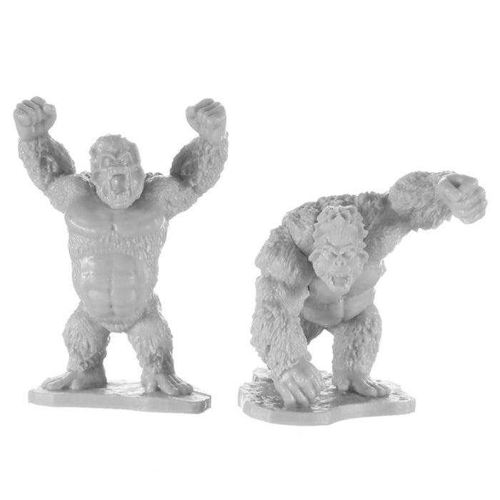 Reaper Miniatures - Dark Heaven Bones: Killer Apes (2) Miniature