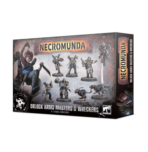 Necromunda: Orlock Arms Masters and Wreckers Miniature Game