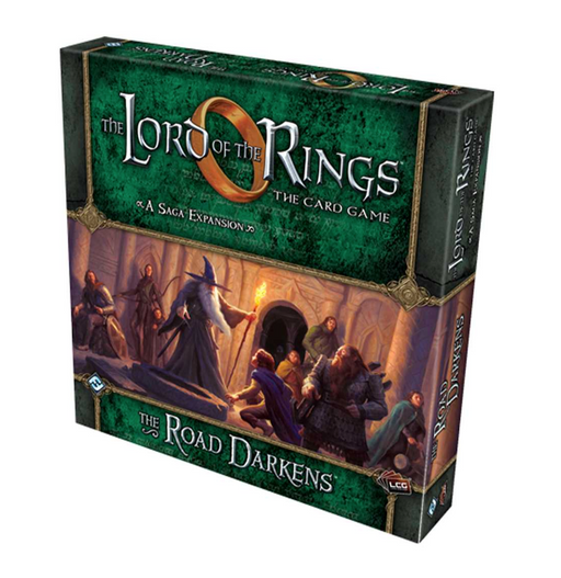 The Lord of the Rings LCG: The Road Darkens Expansion