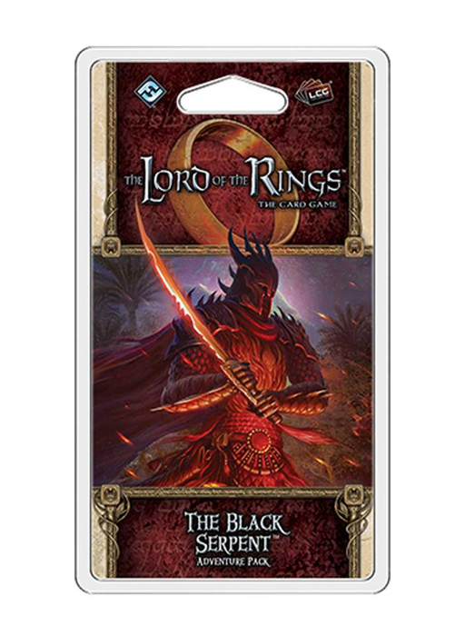 The Lord of the Rings LCG: The Black Serpent Adventure Pack
