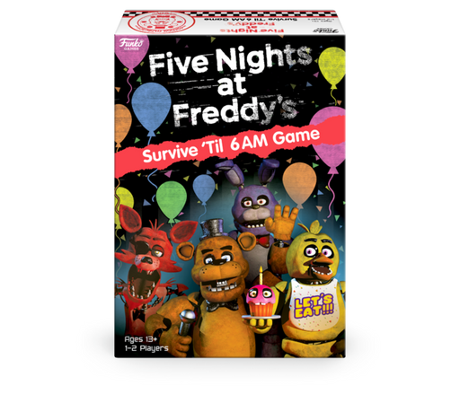 Five Nights at Freddy's: Survive 'Til 6AM Board Game (Pre-order)