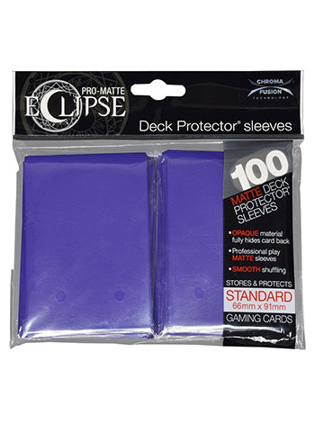 Ultra Pro: Eclipse Deck Protector Sleeves Pro-Matte Royal Purple Standard 100CT