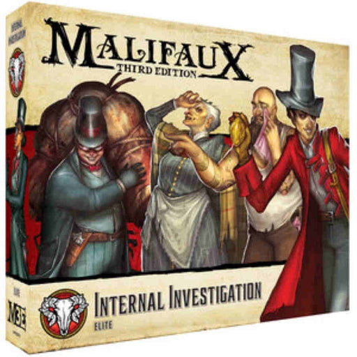 Malifaux 3rd Edition Internal Investigation (Pre-order)
