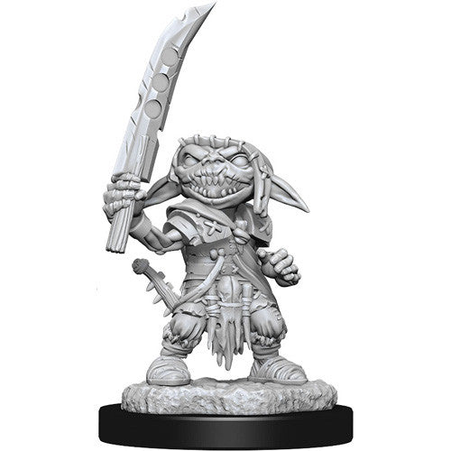 Pathfinder: Deep Cuts Minis: Male Goblin Fighter W13 Unpainted Miniatures