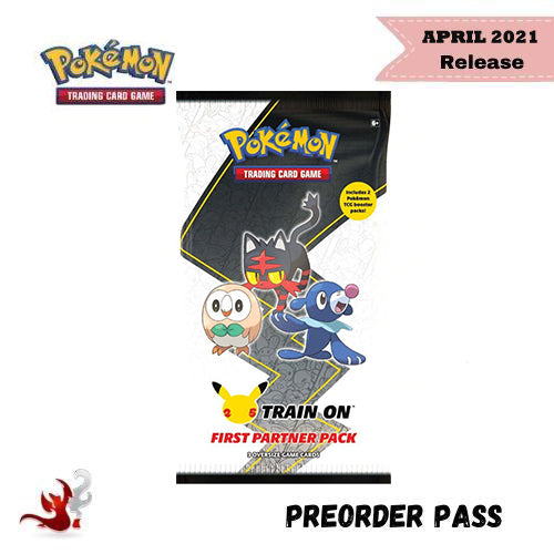 Pokemon TCG First Partner Pack: Alola - Preorder Pass