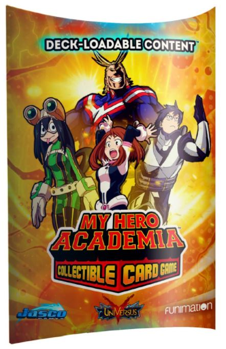 My Hero Academia Collectible Card Game: Deck-Loadable Content 1 - Expansion Pack (Pre-order) Jan 2021