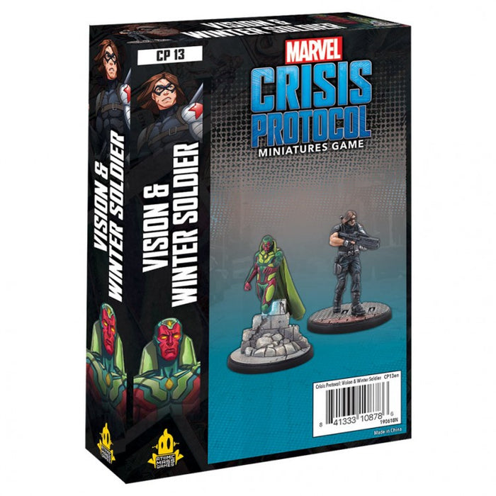Marvel Crisis Protocol: Vision & Winter Soldier Chara