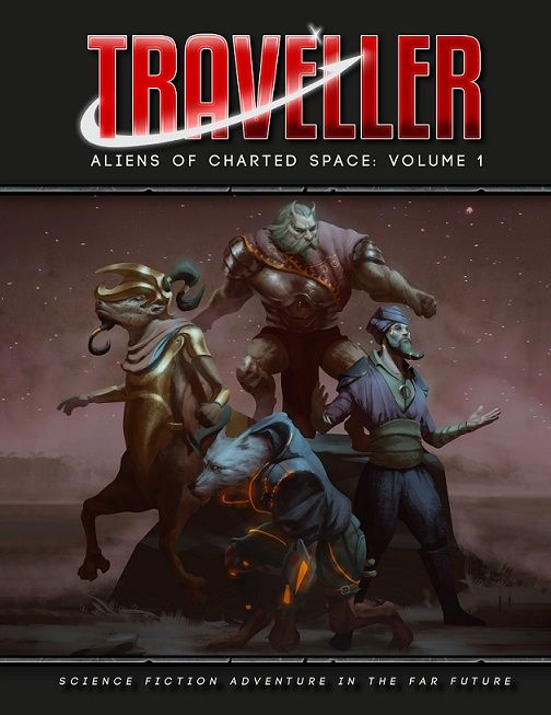 Traveller: Aliens of Charted Space: Volume 1 Role Playing Game