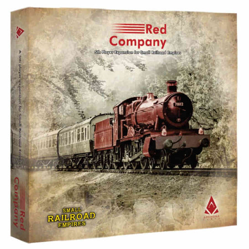 Small Railroad Empires: Red Company Board Game (Pre-order) Aug 2021
