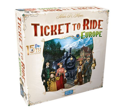 Ticket to Ride Europe: 15th Anniversary Edition Board Game (Pre-order) Jun 2021
