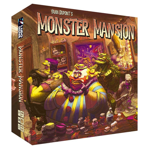 Monster Mansion Board Game