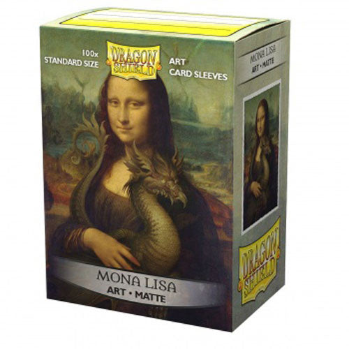 DP: DS: Art: Matte Mona Lisa (100) Sleeves (Pre-order)