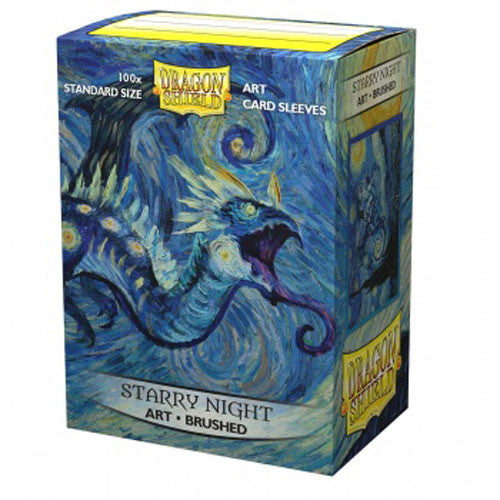 DP: DS: Art: Brushed Starry Night (100) Sleeves (Pre-order)