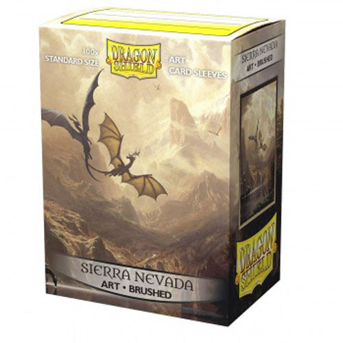 DP: DS: Art: Brushed Sierra Nevada (100) Sleeves (Pre-order)