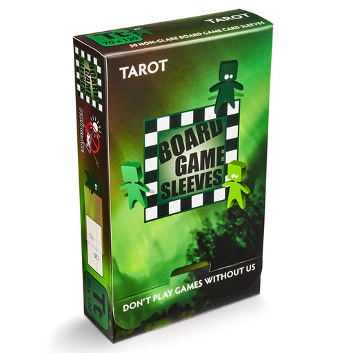 Tarot Green Non-Glare Board Game Sleeves (50 CT)
