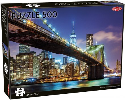 Brooklyn Bridge, New York 500 pcs Puzzle (Pre-order) Jul 2021