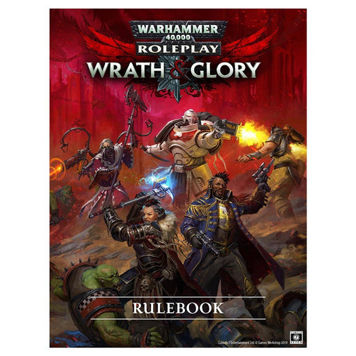 Warhammer 40K: Wrath & Glory: Core Rulebook Revised Hardcover