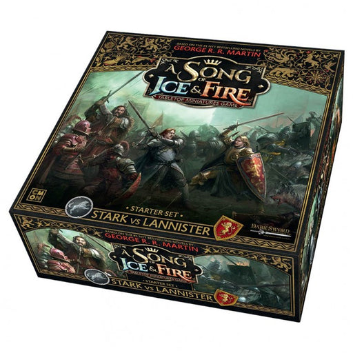 A Song of Ice and Fire TMG: Starter: Stark vs Lannister Board Game