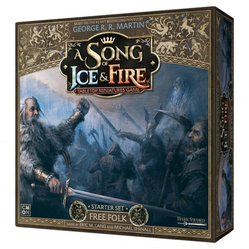 A Song of Ice and Fire TMG: Free Folk Starter Set Board Game