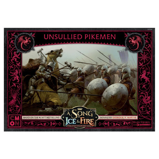 A Song of Ice and Fire: Unsullied Pikemen Miniatures