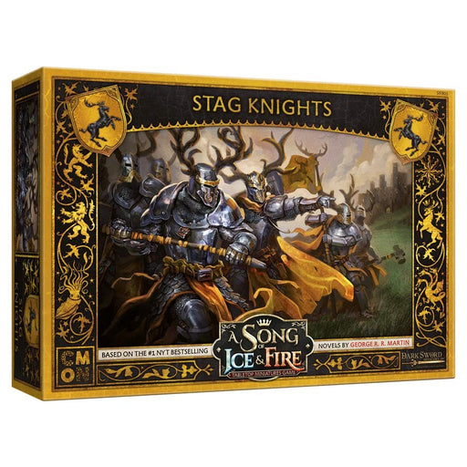 A Song of Ice and Fire: Stag Knights Miniatures