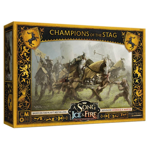 A Song of Ice and Fire: Champions of the Stag Miniatures