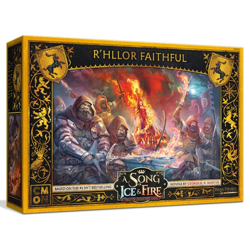 A Song of Ice and Fire: R'hllor Faithful Miniatures (Pre-order)
