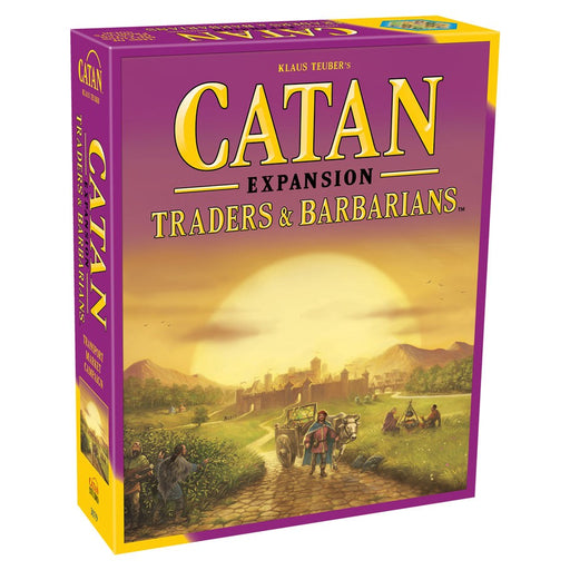 Catan Expansion: Traders & Barbarians Board Game