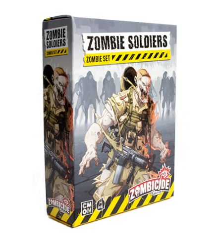 Zombicide 2nd Edition: Zombie Soldiers Set Miniatures (Pre-order) Jun 2021