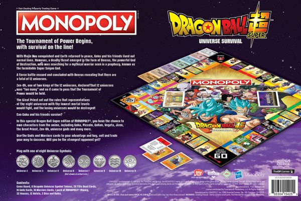 Monopoly: Dragon Ball Super Board Game