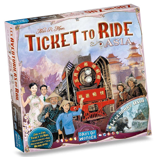 Ticket to Ride: Asia Map Collection 1 Board Game