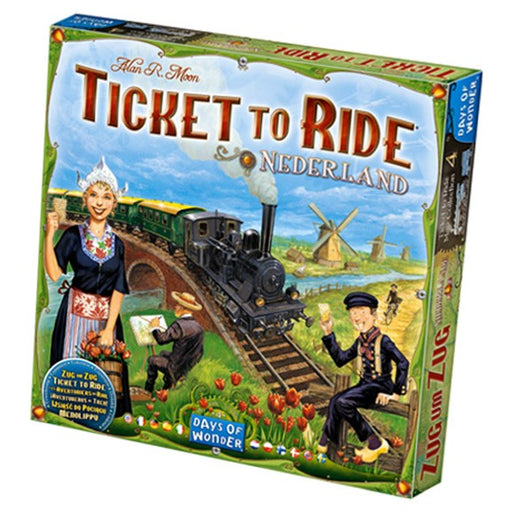 Ticket to Ride: Nederland Map Collection 4 Board Game