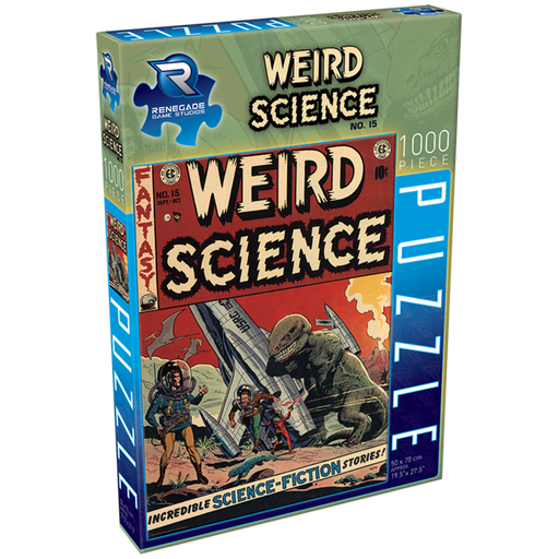Puzzle: Weird Science No. 15 (Pre-order) Apr 2021