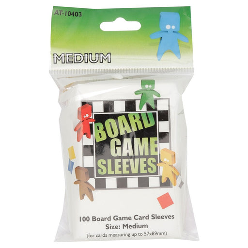 Medium Green Board Game Sleeves (100 CT)