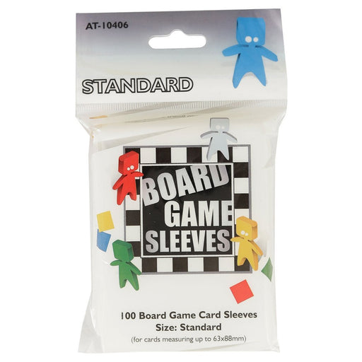 Standard Gray Non-Glare Board Game Sleeves (100 CT)