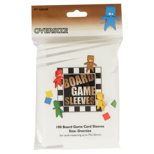 Oversize Brown Non-Glare Board Game Sleeves (100 CT)