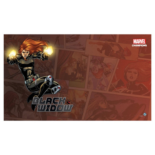 MC LCG: Black Widow Game Mat