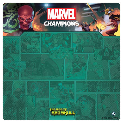 MC LCG: The Rise of Red Skull 4 Player Mat