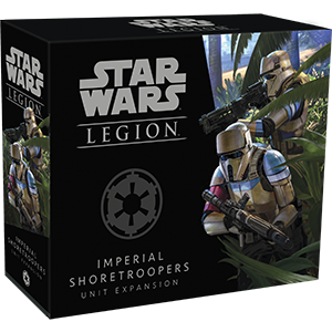Star Wars: Legion - Imperial Shoretroopers Unit Expansion board game