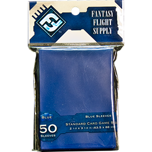 Blue Card Game Sleeves (50CT)