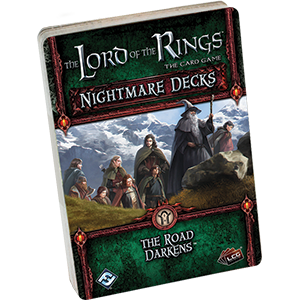 The Lord of the Rings LCG: The Road Darkens Nightmare Decks Card Game