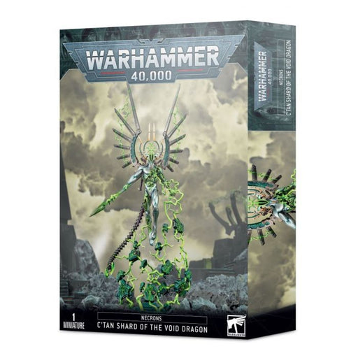 Warhammer 40K: Necrons C'tan Shard of the Void Dragon Miniature Game
