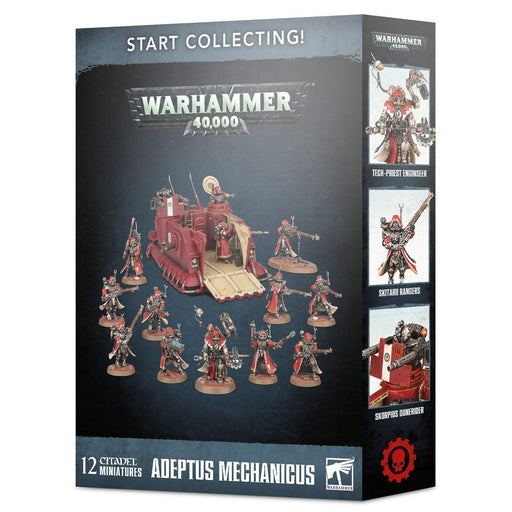 Warhammer 40K: Start Collecting! Adeptus Mechanicus Miniatures