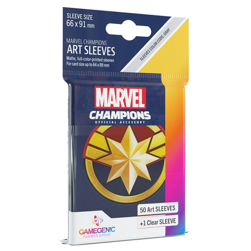 Marvel Champions LCG: Art Sleeves - Captain Marvel (Pre-order) Dec 2020